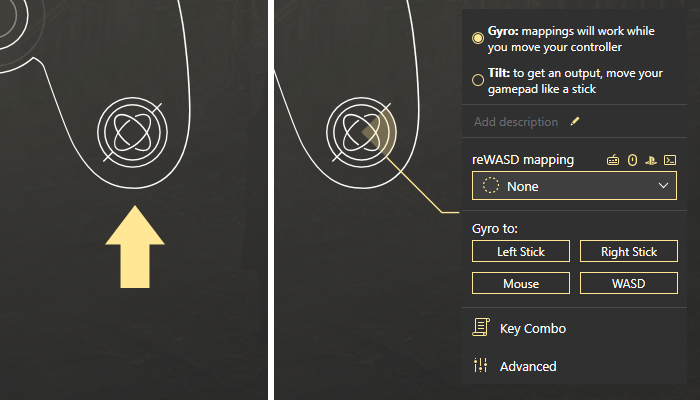 How to remap gyro and set up gyro aiming