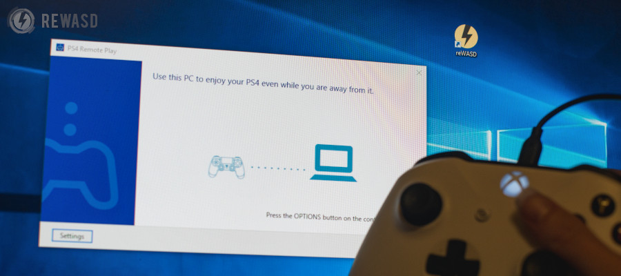 How To Use Ps4 Remote Play Without Controller Try Rewasd To Create A Ps4 Remote Play Keyboard And Mouse Configuration
