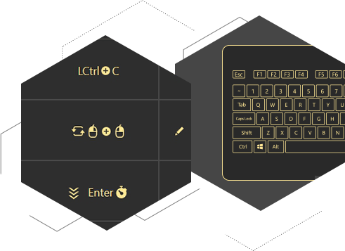 Use all reWASD powers for keyboard and mouse