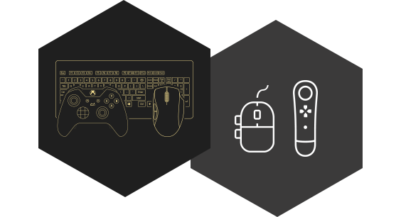 Group devices to remap keyboard, mouse and controllers together