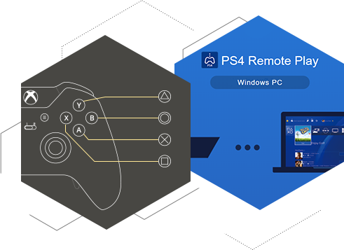 Unite PS4 Remote Play, Xbox controller or any other gamepad together