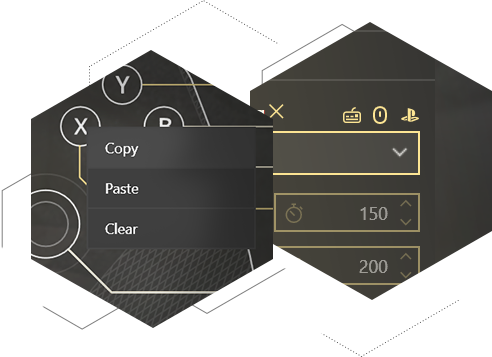 Enjoy handy perks in your favorite gamepad, mouse and keyboard mapper