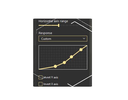 Customize Stick Response curve